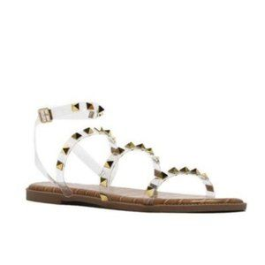 !! NEW !! Clear Studded Gladiator Sandals